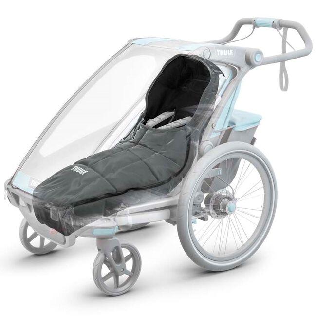 Thule fietskar voetenzak - Darkgrey