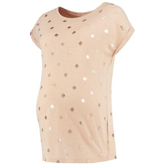 Prenatal zwangerschaps T-shirt - Ivoor Wit