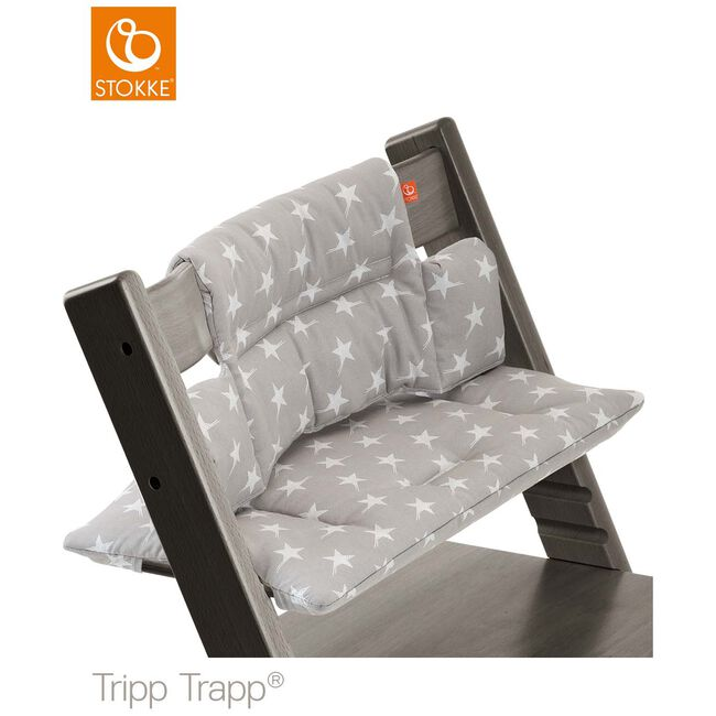 Stokke Tripp Trapp kussentje - Grey Star (Coated)