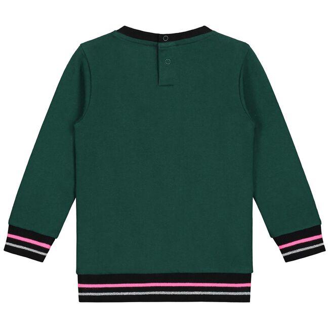 Prénatal baby meisjes sweater - Midgreen