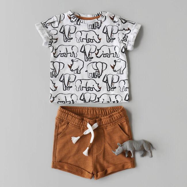 T-shirt & short dieren -
