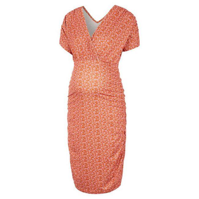 Mamalicious zwangerschaps jurk - Orange