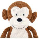 Prénatal knuffel aap little knits -