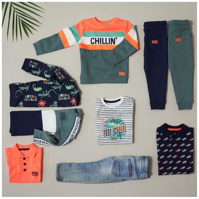 Prénatal baby jongens shirt - Ivoor Wit