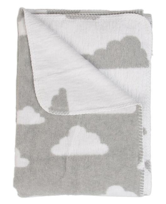 Meyco wiegdeken wolk - Grey