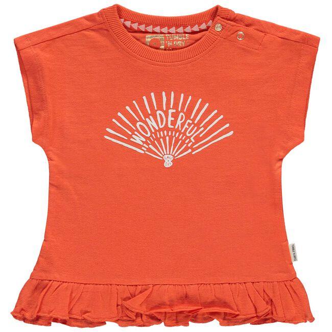 Tumble 'n Dry peuter meisjes T-shirt - Midorange