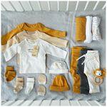Prenatal newborn unisex krabwantjes - Ivoor Wit