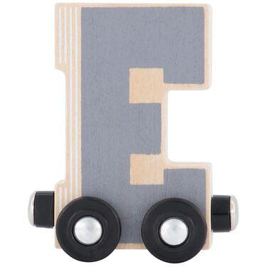 Prénatal houten namentrein letter E -