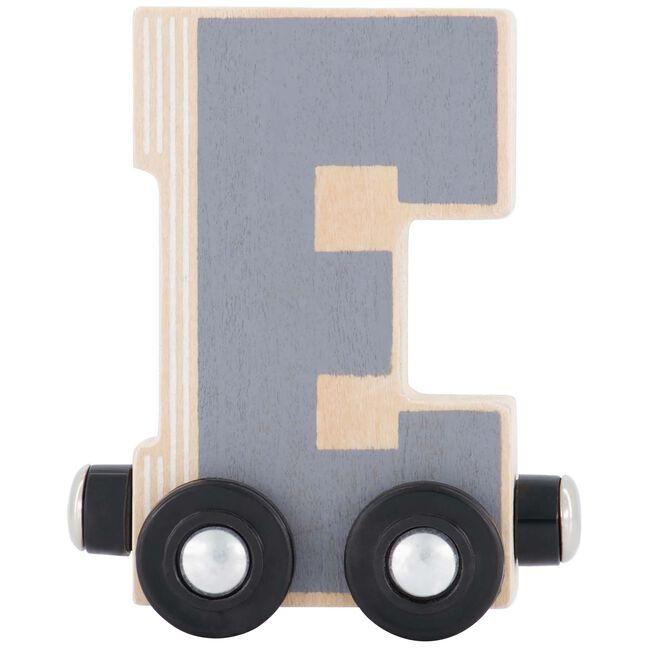Prénatal houten namentrein letter E - Multi