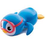Munchkin badspeeltje zwemmende pinguin - Blue