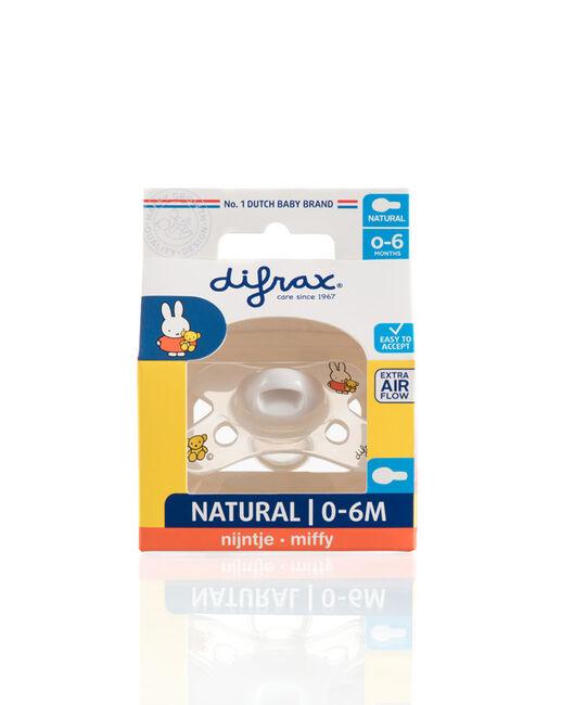 Difrax fopspeen natural Nijntje 0-6 maanden - Geen Kleurcode