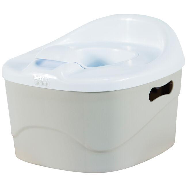 PottyChamp potje, toiletverkleiner en opstapje in 1 - Lightgrey