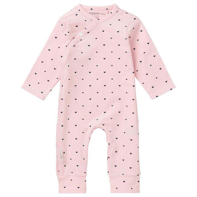 Noppies newborn meisjes onesie - Light Rosered