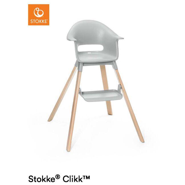 Stokke Clikk High Chair - Stonegrey