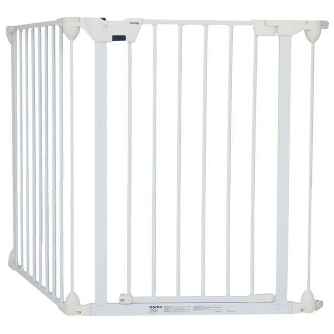 Noma modular veiligheidshek - 3 panelen - White