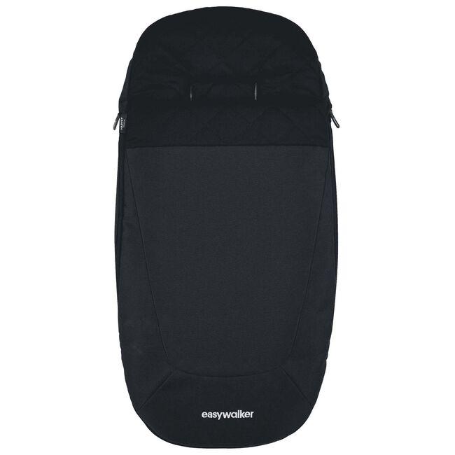 Easywalker Harvey2 Premium voetenzak - Premium Onyx Black