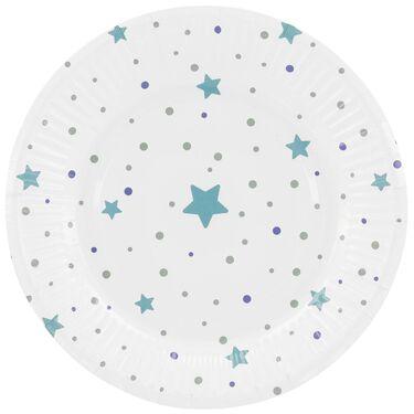 Prénatal bordjes blauw -