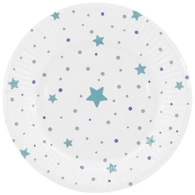 Prénatal bordjes blauw - Blue
