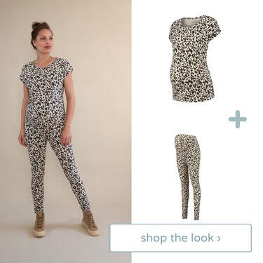 Shop the look - T-shirt & tregging -