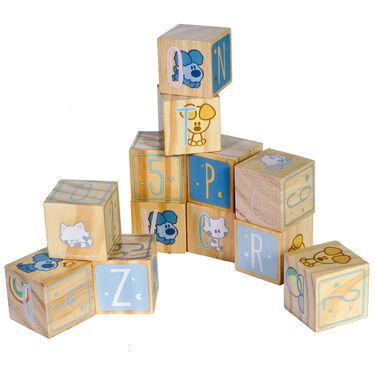 Woezel en Pip houten blokken -