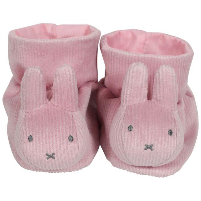 Nijntje box pantoffels rib roze - Roze