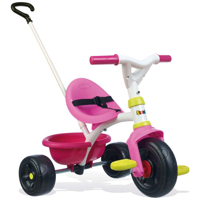 Smoby driewieler Be Fun roze - Blossom Pink