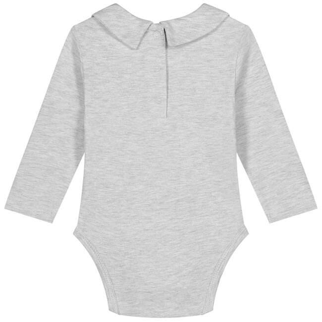 Prenatal romper - Grey Melee Light