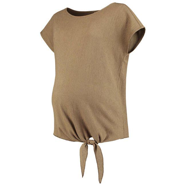 Prenatal zwangerschaps T-shirt - Khakigreen