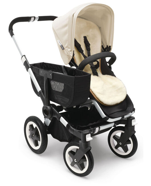Bugaboo Seatliner wollen stoelverkleiner - Grey Melee Light