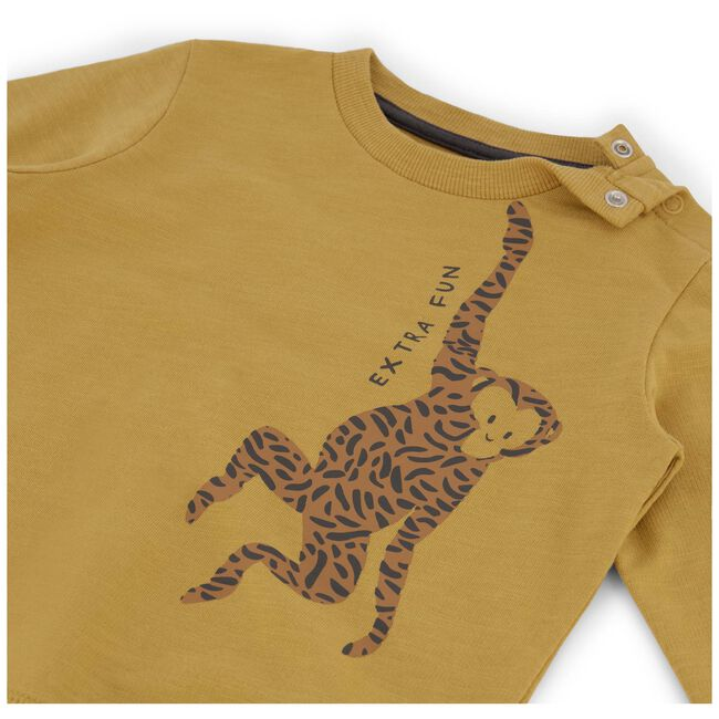 Prenatal peuter jongens sweater - Yellow Shade