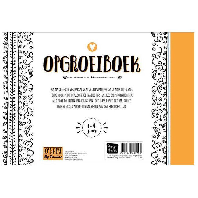 Pauline Oud O'Baby Opgroeiboek - Multi