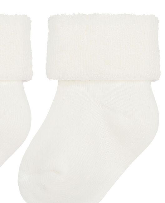 Prénatal baby sokjes 2 stuks - Off-White