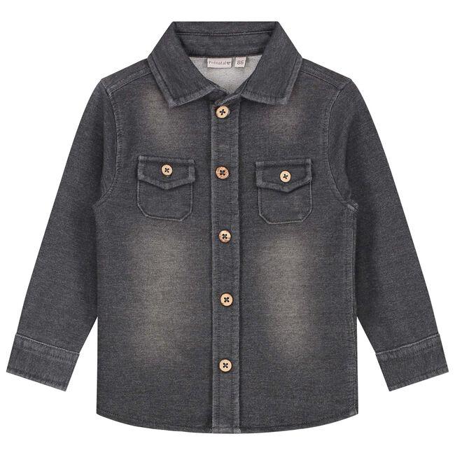 Prénatal baby jongens blouse - Stonegrey