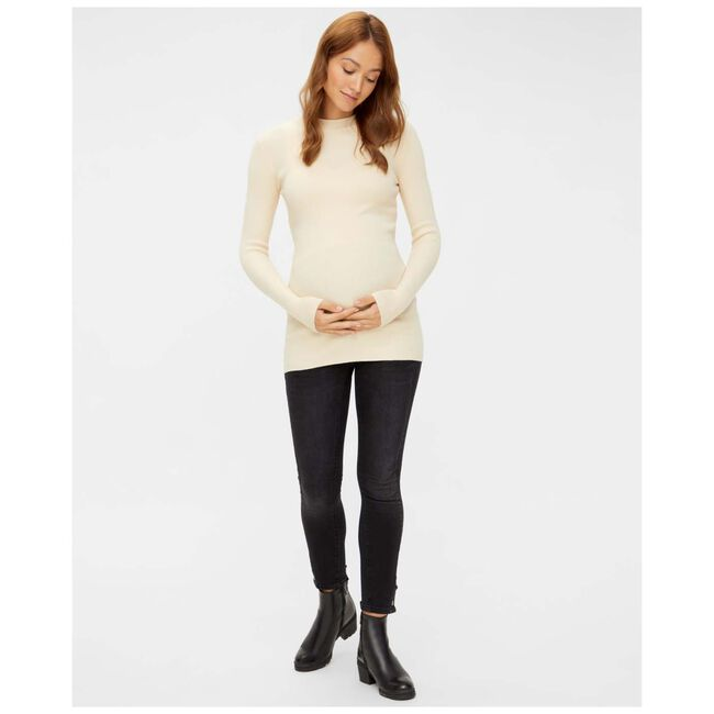 Mamalicious zwangerschapsjeans - Black Denim