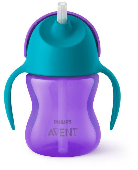 Philips Avent rietjesbeker 200ml 9+ maanden paars - Purple