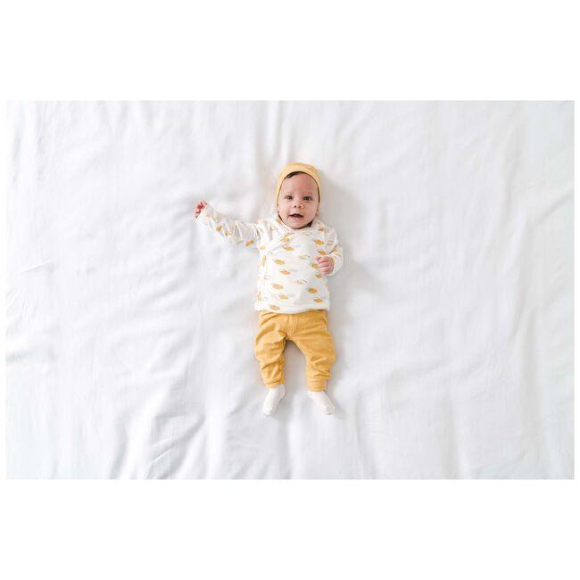 Prénatal newborn unisex broekje geel - Midyellow