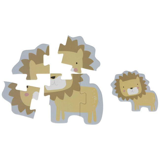 Little Dutch dierenpuzzel dierentuindieren - Multi