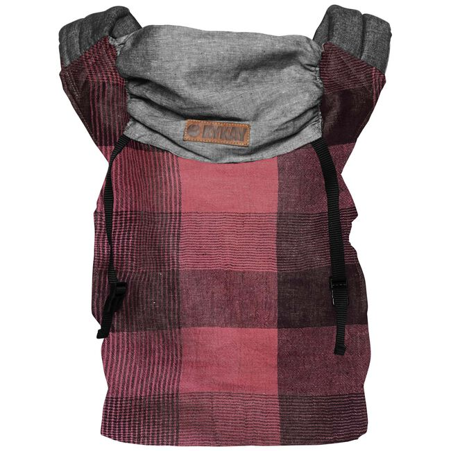 ByKay Click Carrier Reversible draagzak - limited edition Red Plaid - Red