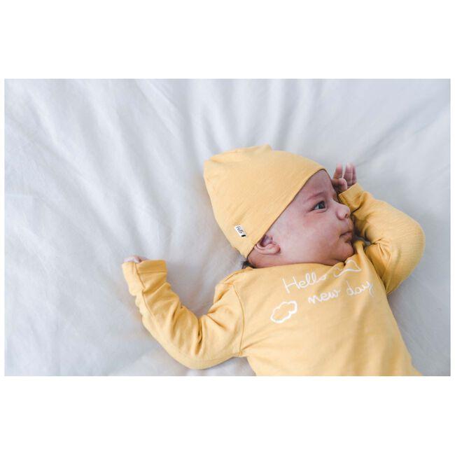 Prénatal newborn unisex mutsje geel - Midyellow