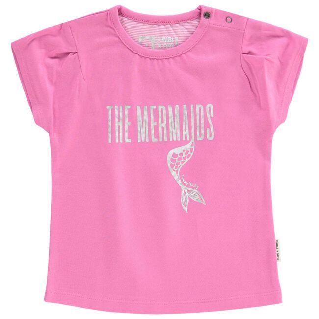 Tumble 'N Dry peuter meisjes t-shirt - Medium Pink