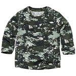 Quapi baby jongens t-shirt - Midgreen