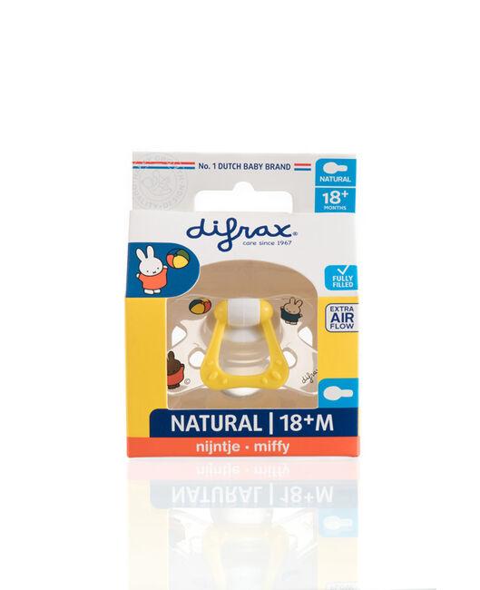 Difrax fopspeen natural Nijntje 18+ maanden - Geen Kleurcode
