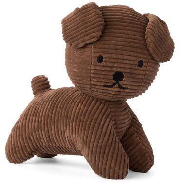 Snuffy knuffel corduroy 25cm - Brown