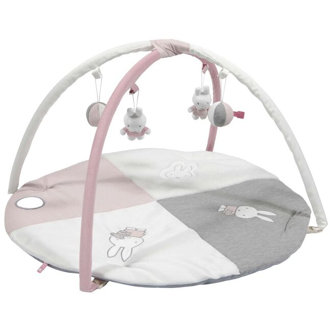 Nijntje speelkleed rib roze - Pink