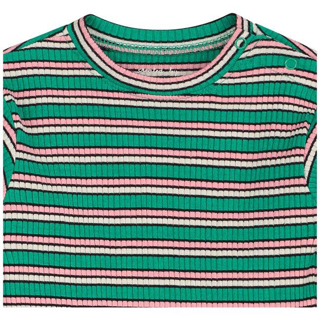 Prénatal baby meisjes T-shirt - Midgreen