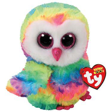 TY beanie buddy Owen owl 24cm -