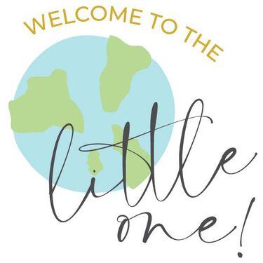 Caroline Gardner wenskaart Welcome to the world little one -