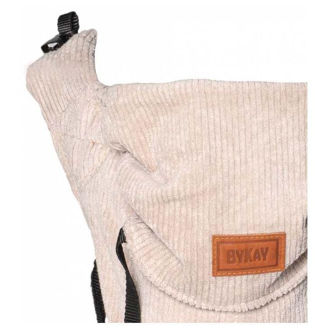 ByKay Click Carrier Classic ribbed velvet - Almond Sand