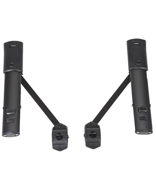 Topmark 2 Combi kinderwagen adapters - Black