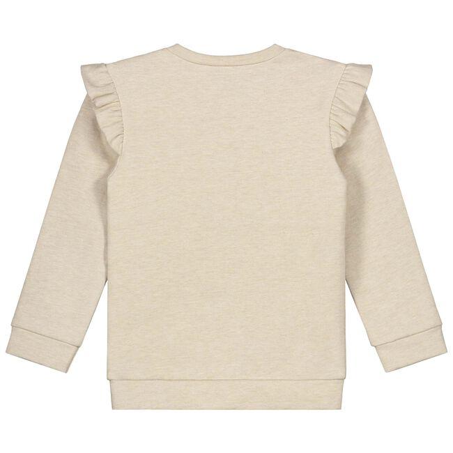 Prénatal peuter meisjes sweater - Soft Brown Melange